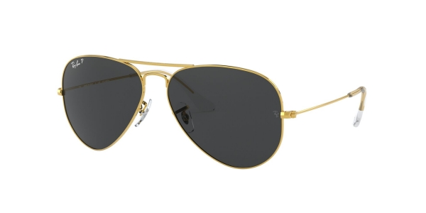 RAY-BAN RB3025 AVIATOR LARGE METAL LEGEND GOLD