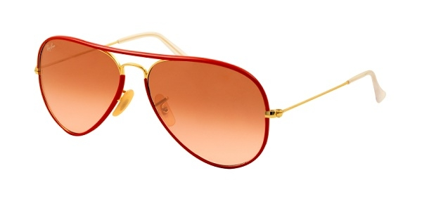 caeed91ae9 RAY-BAN Aviator Full Color RB3025JM 001 X3 GOLD PINK GRADIENT BROWN  PHOTOCHROMIC