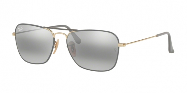 280d71f91e RAY-BAN Caravan RB3136 9154AH GOLD ON TOP MATTE GREY