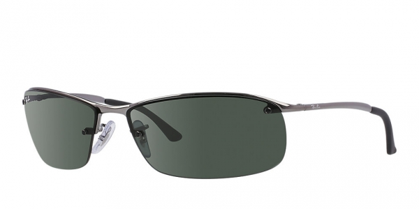 Ray-Ban Top Bar RB 3183 002/81 63 Occhiali da sole jjKam