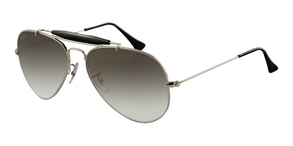 2e5a5983af3 RAY-BAN Outdoorsman Ii Rainbow RB3407-003 32 SILVER CRYSTAL GRAY GRADIENT