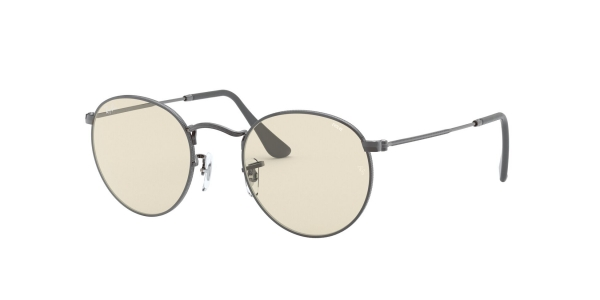 RAY-BAN RB3447 ROUND METAL GUNMETAL