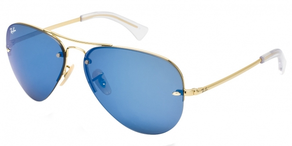 0076234627 Ray Ban 3449 Blue Mirror