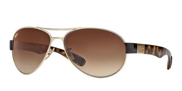 RAY-BAN RB3509 ARISTA BROWN GRADIENT