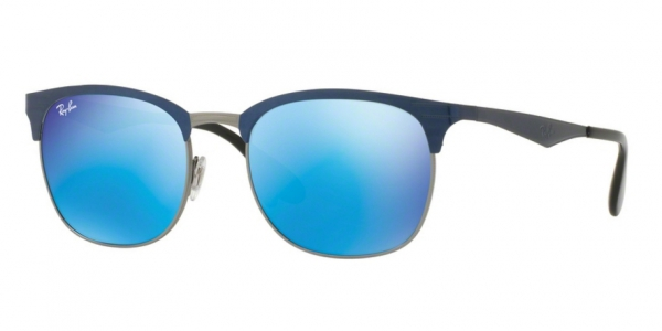 a497a8623a RAY-BAN RB3538 189 55 TOP BLUE ON GUNMETAL