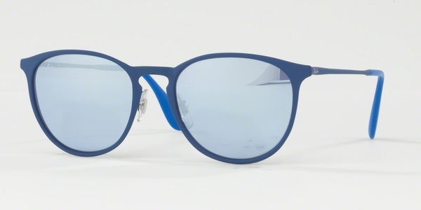 RAY-BAN ERIKA METAL RB3539 RUBBER ELETRIC BLUE