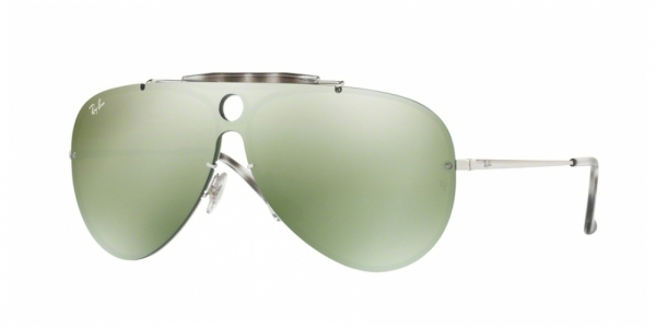 RAY-BAN BLAZE SHOOTER RB3581N SILVER