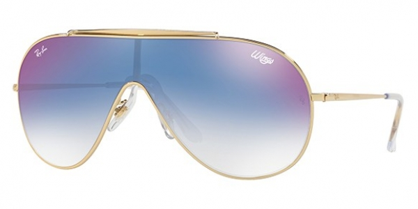 RAY-BAN WINGS RB3597 GOLD