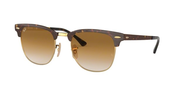 RAY-BAN RB 3716 CLUBMASTER METAL GOLD TOP HAVANA