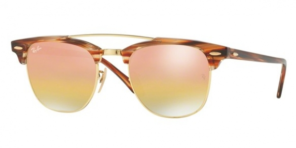 RAY-BAN CLUBMASTER DOUBLEBRIDGE RB3816 GOLD