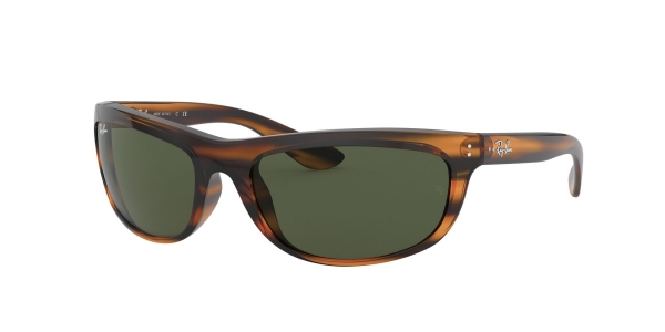 RAY-BAN BALORAMA RB4089 STRIPPED RED HAVANA
