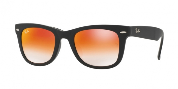 b252fa27f1 RAY-BAN Folding Wayfarer RB4105-60694W MATTE BLACK