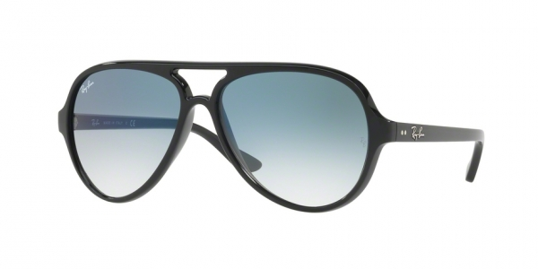 RAY-BAN RB4125 CATS 5000 BLACK