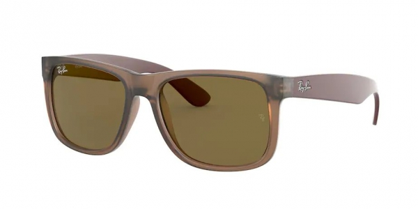 RAY-BAN RB4165 JUSTIN RUBBER TRANSPARENT LIGHT BROWN