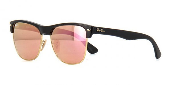 6d24e13fa0 RAY-BAN Clubmaster Oversized RB4175 877 Z2 DEMI SHINY BLACK