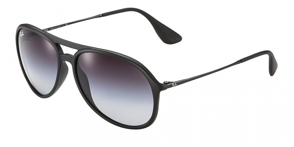 RAY-BAN RB4201 ALEX RUBBER BLACK GREY GRADIENT