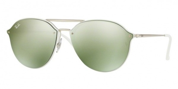 RAY-BAN BLAZE DOUBLEBRIDGE RB4292N WHITE
