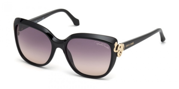 ROBERTO CAVALLI RC1017 SHINE BLACK / GREY GRADIENT