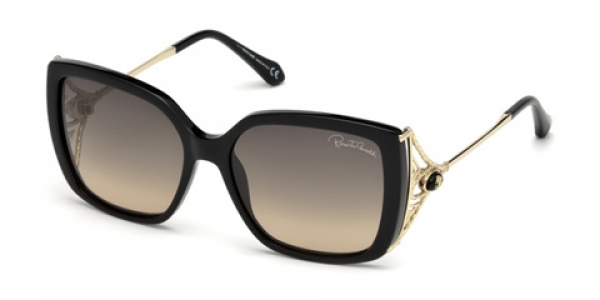 ROBERTO CAVALLI RC1058 Negro Brillo / Gris Degradado