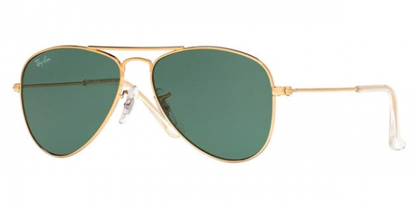 RAY-BAN JUNIOR JUNIOR AVIATOR RJ9506S GOLD/GRAY GRADIENT