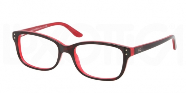 RALPH LAUREN RL6062 TOP HAVANA / RED