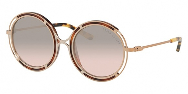RALPH LAUREN RL7060 SANDED ROSE GOLD/YELLOW HAVANA