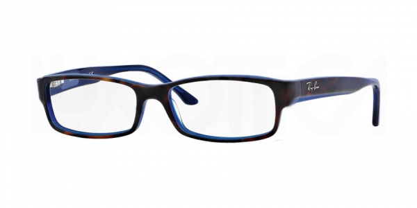 RAY-BAN RX5114 TOP HAVANA ON BLUE