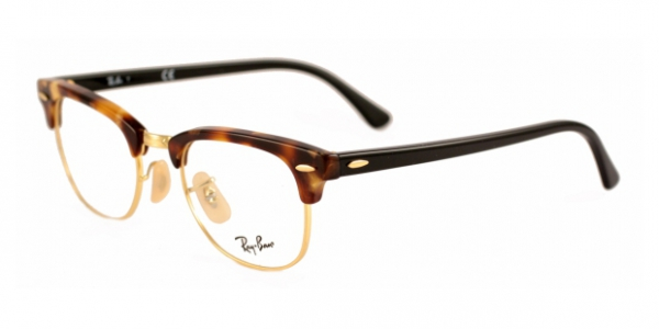 RAY-BAN RX5154 CLUBMASTER BROWN HAVANA