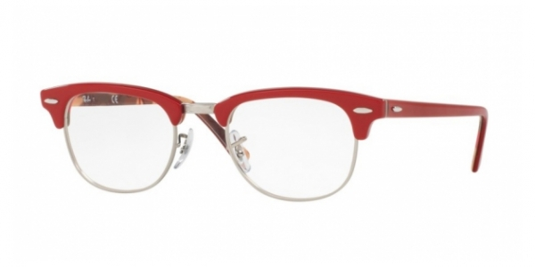 RAY-BAN RX5154 CLUBMASTER RED ON TEXTURE CAMUFLAGE