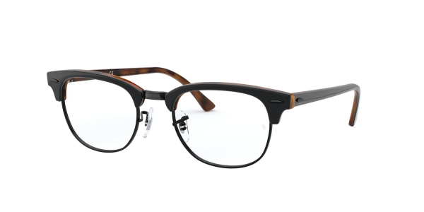 RAY-BAN RX5154 CLUBMASTER TOP GREY ON HAVANA