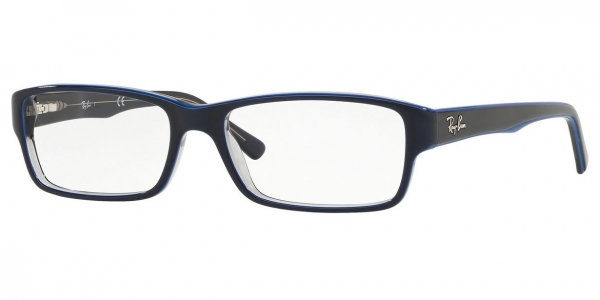 RAY-BAN RX5169 TRASP GREY ON TOP BLUE