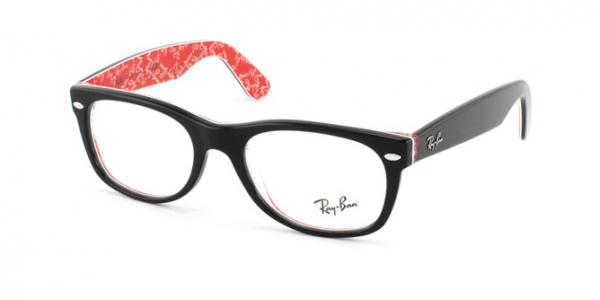 RAY-BAN RX5184 NEW WAYFARER TOP BLACK ON TEXTURE R