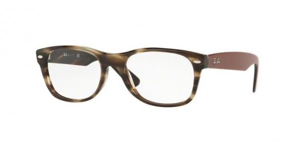 RAY-BAN RX5184 NEW WAYFARER HAVANA GREEN
