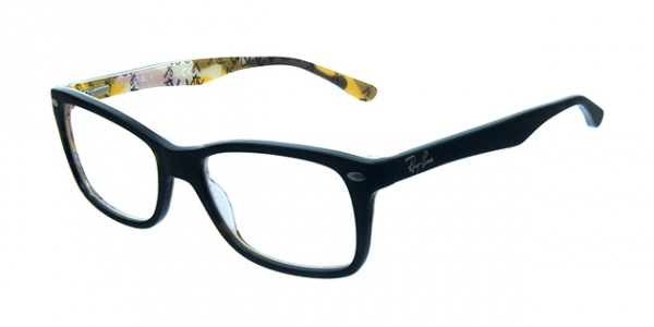 RAY-BAN RX5228 TOP HAVANA ON TEXTURE CAMUFLAG