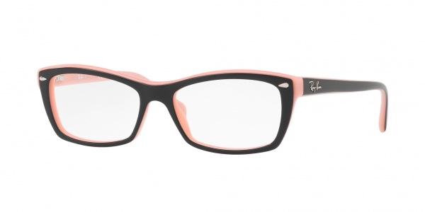 RAY-BAN RX5255 TOP BLACK ON PINK