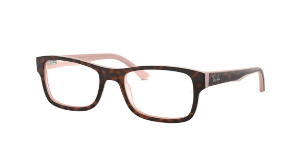 RAY-BAN RX5268 TOP HAVANA ON OPAL PINK