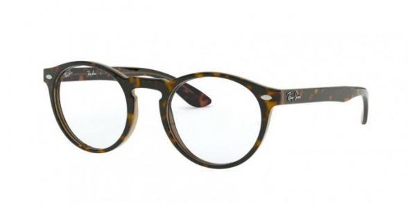 RAY-BAN RX5283 HAVANA ON TOP TRASP BROWN