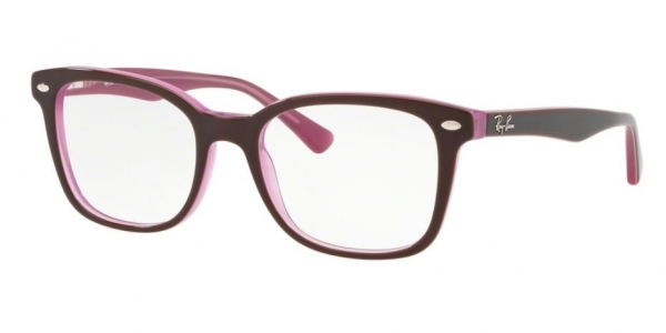 RAY-BAN RX5285 TOP BROWN ON OPAL PINK
