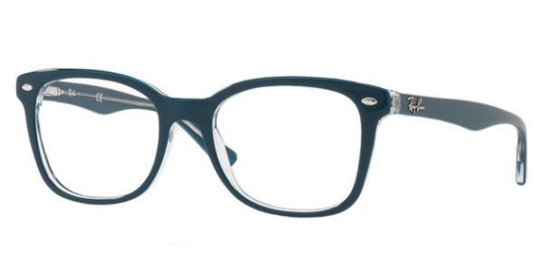 RAY-BAN RX5285 TOP TURQUOISE ON TRASPARENT