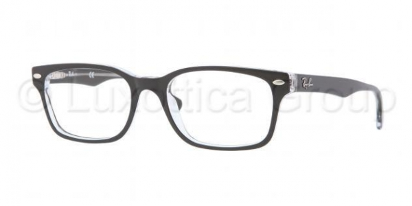 RAY-BAN RX5286 TOP BLACK ON TRANSPARENT