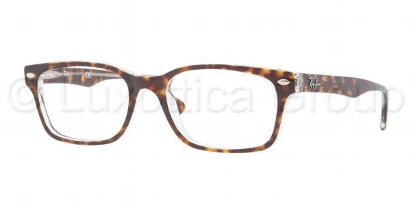 RAY-BAN RX5286 TOP HAVANA ON TRANSPARENT