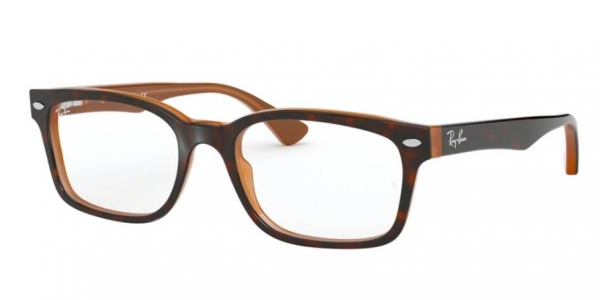 RAY-BAN RX5286 TOP HAVANA ON BROWN