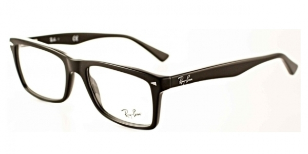 RAY-BAN RX5287 TOP BLACK ON TRANSPARENT