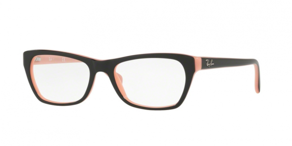 RAY-BAN RX5298 TOP BLACK ON PINK
