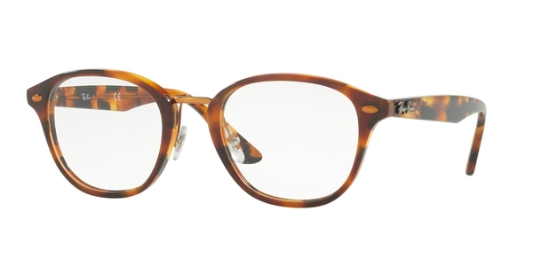 Occhiali da vista Ray Ban RX5355 5676 Havana Brown 48-21