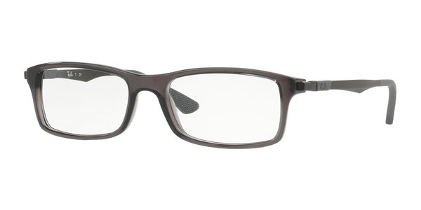 RAY-BAN RX7017 TRASPARENT GREY