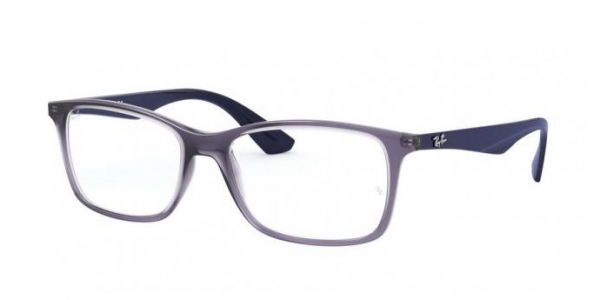 RAY-BAN RX7047 TRANSPARENT VIOLET