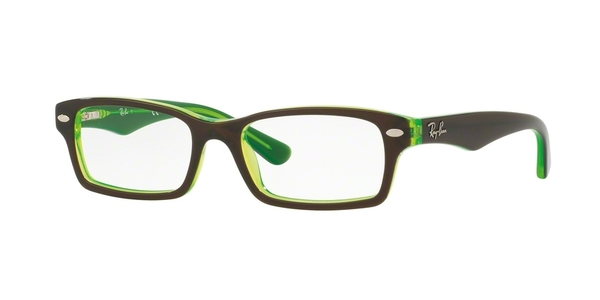 RAY-BAN JUNIOR RY1530 TOP BROWN ON GREEN FLUO