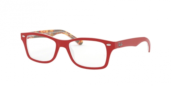 RAY-BAN JUNIOR RY1531 RED ON TEXTURE RED BROWN