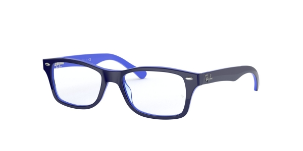 RAY-BAN JUNIOR RY1531 TOP OPAL BLUE/TRANSP LIGHT BLU